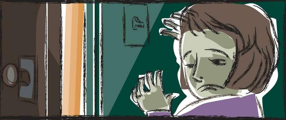 Greenwich Time domestic violence illustraton. Photo: Contributed Photo / Greenwich Time Contributed