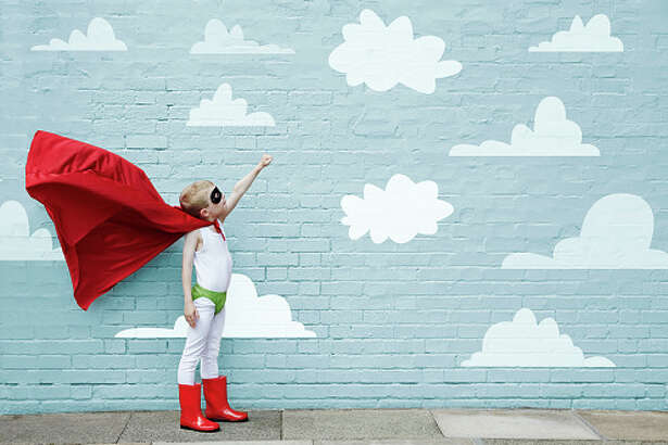 Kids dressed in costume are more likely to persevere.