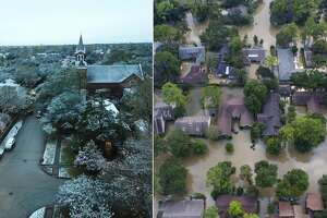 From Hurricane Harvey to snow, 2017 has been a crazy year for weather in Houston.   Scroll ahead to see more photos of the weather around the Houston area in 2017.