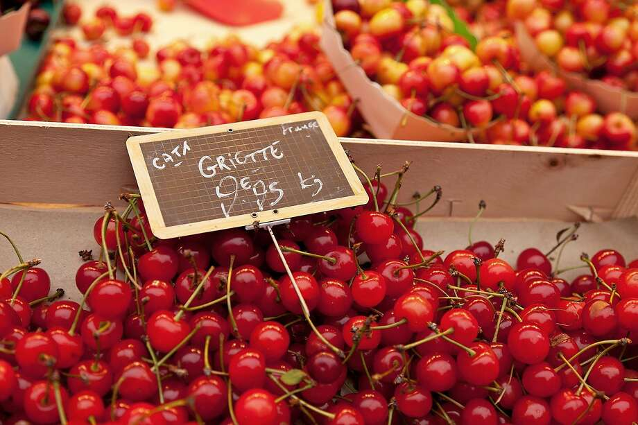 In late spring, look for luscious cherries in any French produce market. Photo: Dominic Arizona Bonuccelli, Rick Steves Europe