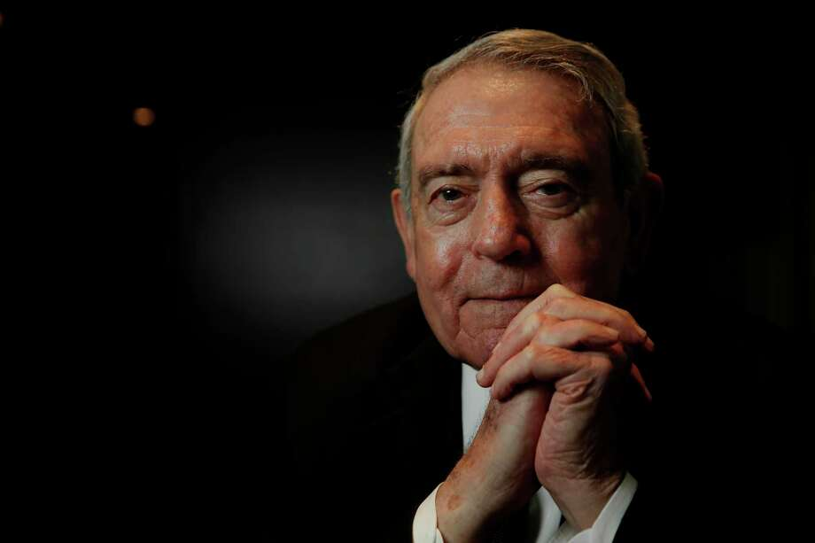 American journalist and the former news anchor for the CBS Evening News Dan Rather poses for a portrait in downtown San Francisco, California, on Thursday December 8, 2016. Photo: Michael Macor, Staff / ONLINE_YES