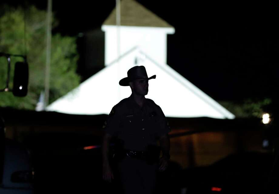 The massacre at First Baptist Church of Sutherland Springs is the worst mass shooting in Texas history. Photo: Eric Gay, STF / Copyright 2017 The Associated Press. All rights reserved.