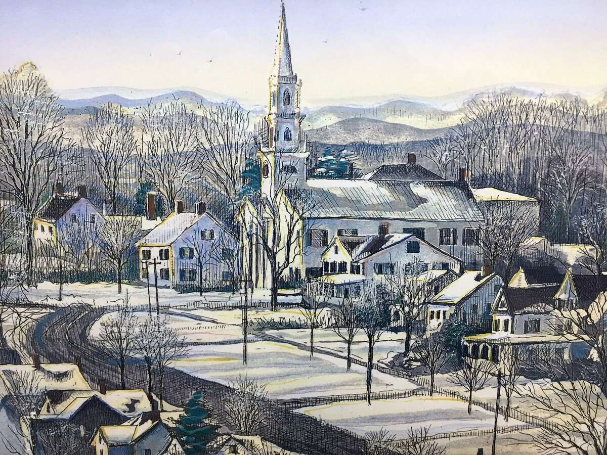 The Charlotte Hungerford Hospital (CHH) Auxiliary is featuring the artwork of Gerald Hardy and Marilyn Davis (Hardy) now through early January.