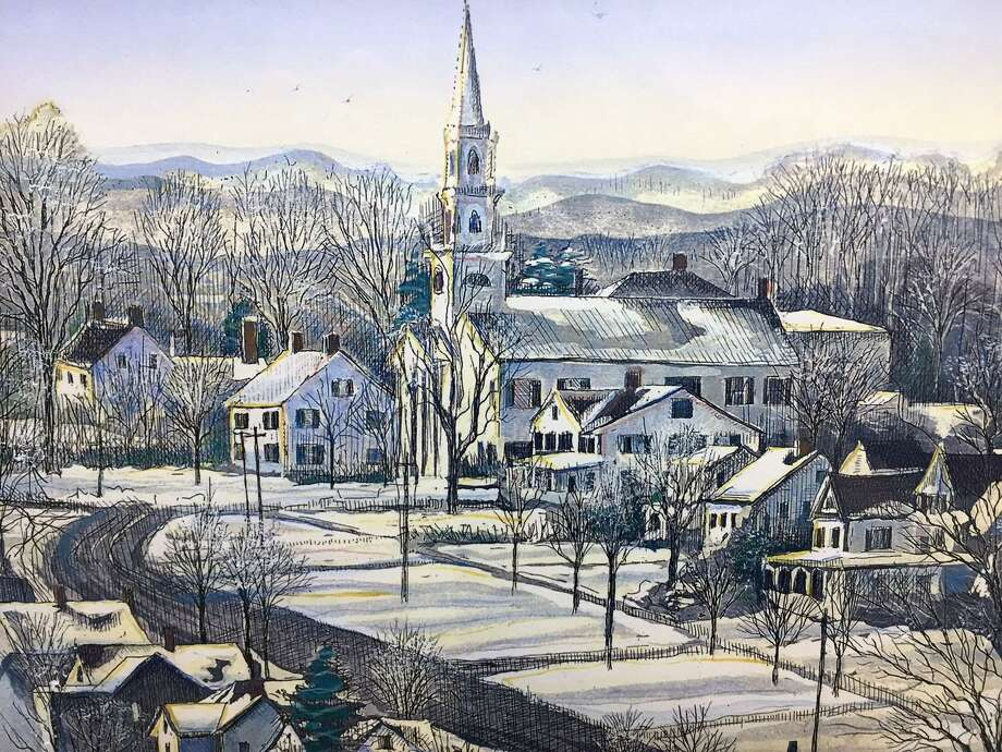 The Charlotte Hungerford Hospital (CHH) Auxiliary is featuring the artwork of Gerald Hardy and Marilyn Davis (Hardy) now through early January. Photo: Contributed Photo