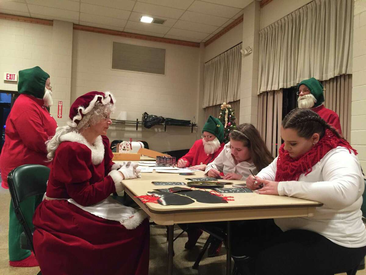 Torrington held its annual Toy Shower, an event that benefits Christmas Village by providing a toy for every child who visits, at the Coe Memorial Park Civic Center. Christmas VIllage opens Sunday with a parade at 12:30 p.m. on Main Street. The public is welcome and encouraged to attend. The village remains open daily until Christmas Eve.