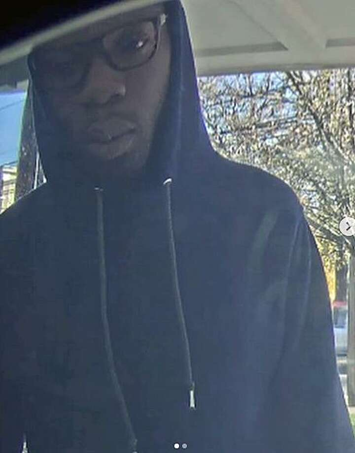 Darien police are asking anyone who can ID this male suspect to come forward. Photo: Contributed Photo / Darien Police Department / Contributed Photo / Connecticut Post Contributed