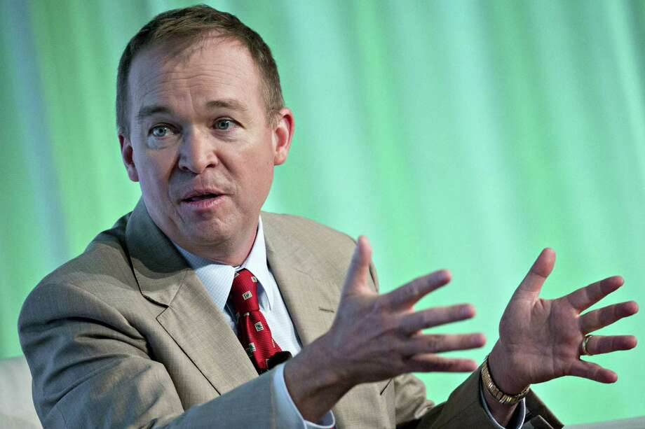 Mick Mulvaney is the director of the Office of Management and Budget and acting head of the Consumer Financial Protection Bureau. Photo: Andrew Harrer, Bloomberg / © 2017 Bloomberg Finance LP