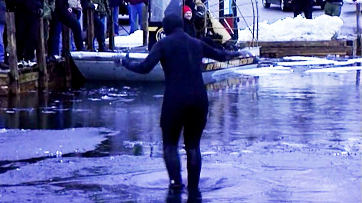 2. I once put on a wet suit and stood on a partially-frozen Lake George in February until the ice gave way and I plunged into the 40+ degree water to do a story on ice rescues. I have never been so cold in my life!