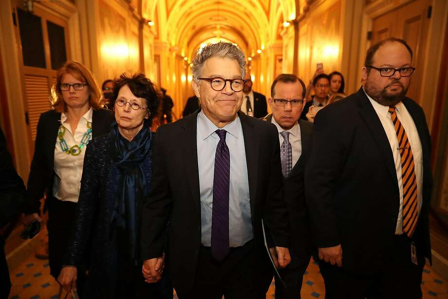 Woman: Al Franken said kissing her was his 'right as an entertainer'