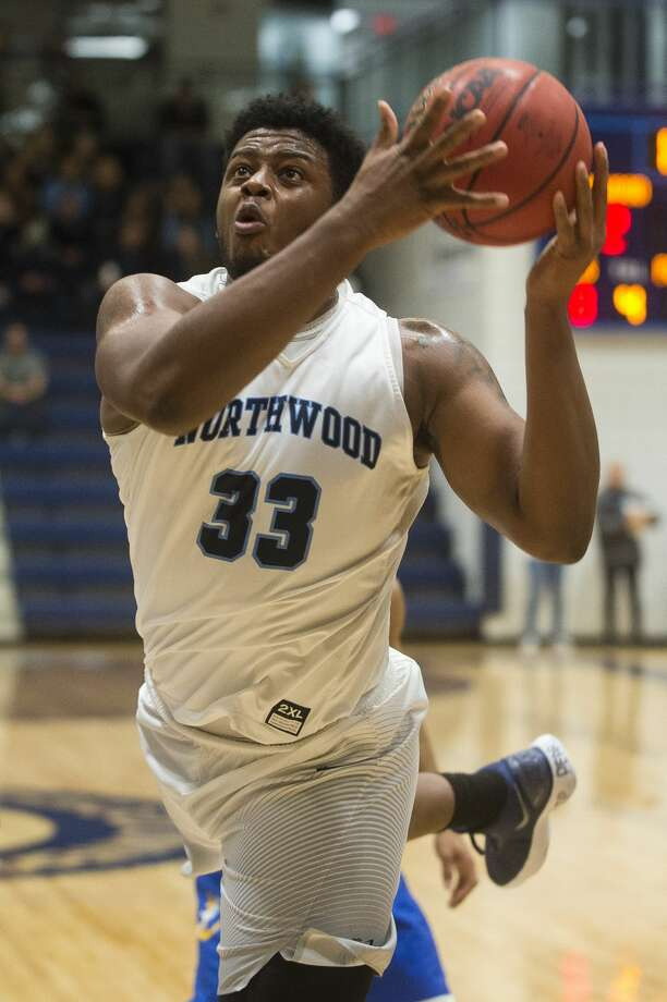 Northwood's Kelvin Calhoun II takes a shot during the Timberwolves' game against Lake Superior State on Saturday, Dec. 9, 2017 at Northwood University. (Katy Kildee/kkildee@mdn.net) Photo: (Katy Kildee/kkildee@mdn.net)