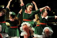 Students from the Orlando School of Dance perform during the Melodies of Christmas on Thursday, Dec. 12, 2013, at Proctors Theatre in Schenectady, N.Y. The show featured the Empire State Youth Orchestra and the Empire State Youth Chorale. (Cindy Schultz / Times Union)