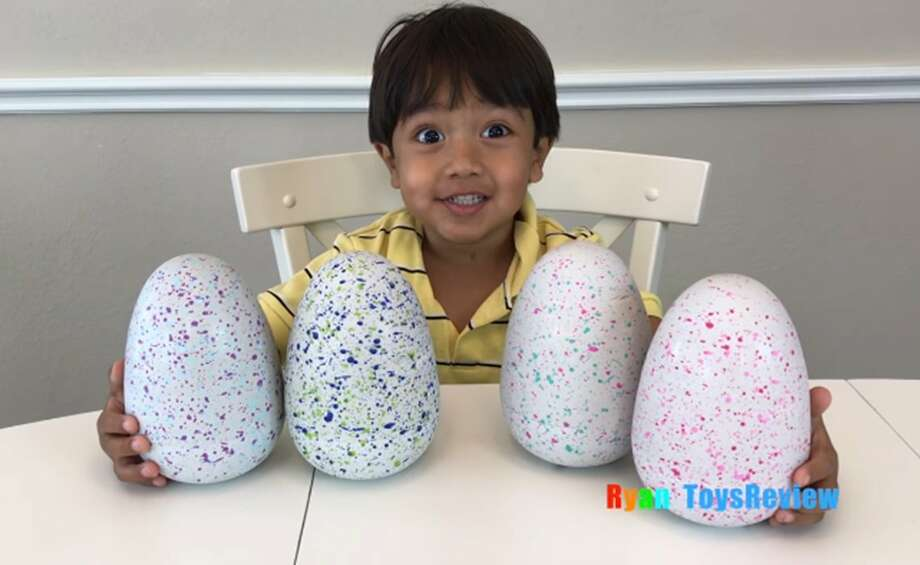 A family-run YouTube channel, Ryan ToysReview generated around $11 million in pretax income in 2017, according to Forbes' annual list of the highest-earning YouTube celebrities. Photo: YouTube/RyanToysreview