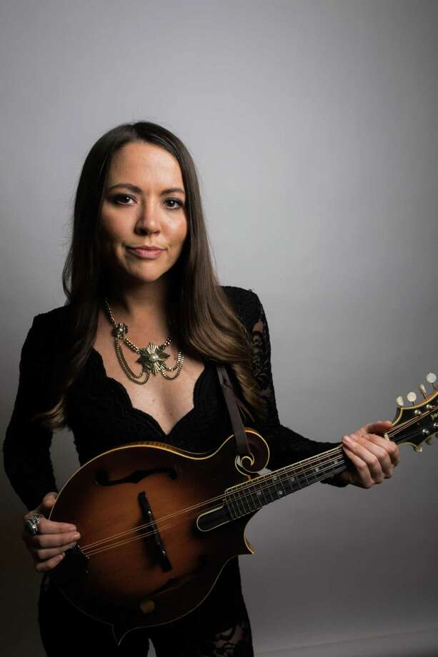Jenni Lyn Gardner of Della Mae will perform Wednesday at Cafe Nine in New Haven. Photo: Contributed