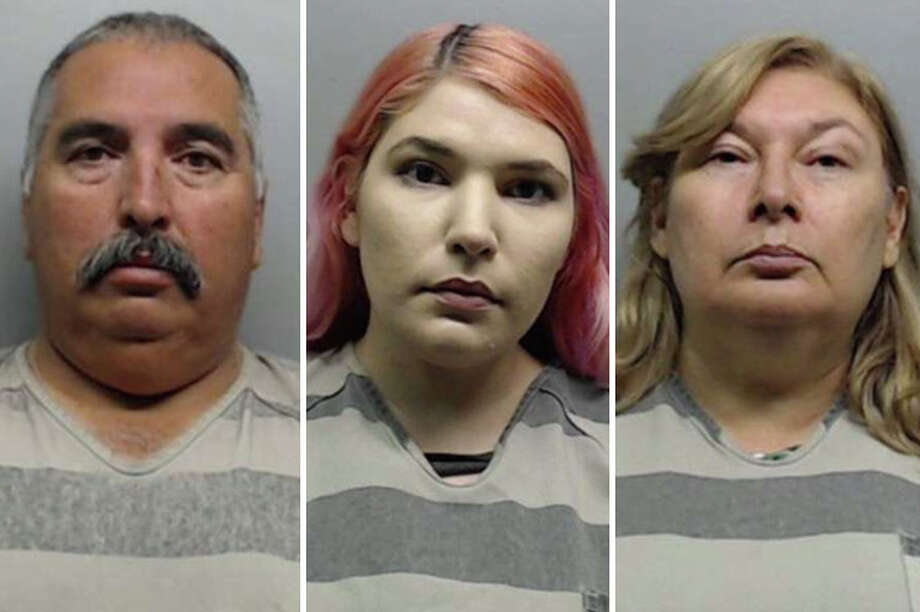 A father, mother and daughter lied about having their vehicle stolen because they could no longer afford the payments, according to Laredo police. Photo: Courtesy