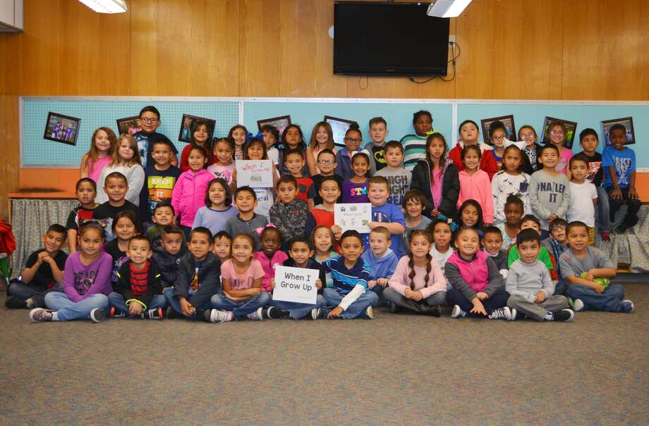 Edgemere students became published authors recently. Photo: William Carroll, Plainview Herald