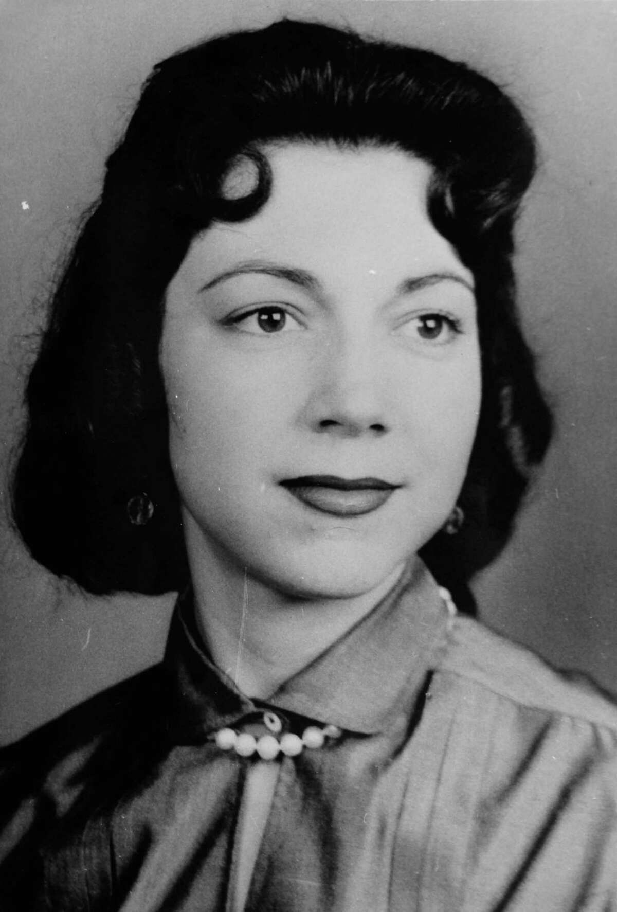 A photograph of Irene Garza before her death in April of 1960. (Nathan Lambrecht/The Monitor/Pool)