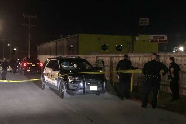 San Antonio police say one man was shot after being robbed on the North Side Saturday, Dec. 9, 2017.