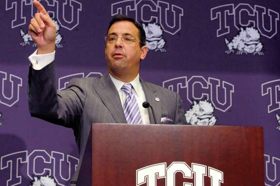 Chris Del Conte, who is leaving as athletic director at TCU for the same job at Texas, is highly respected by his peers around the country.