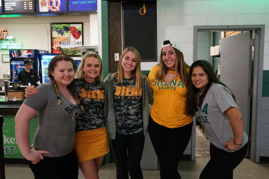 Were you Seen at the Siena-UAlbany game at Times Union Center in Albany on Dec. 9, 2017? Did we miss you at the event? Share your photos on Instagram with the hashtag #TUSeen, and we'll feature them in our gallery. Photo: (Massarah MIkati/Times Union)