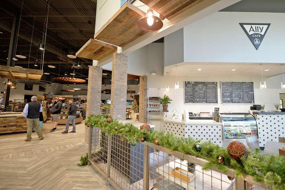 Ally Cafe inside the Ally Outdoors facility Dec. 9, 2017. James Durbin/Reporter-Telegram Photo: James Durbin