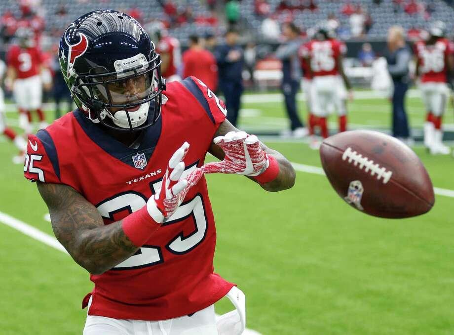 Texans cornerback Kareem Jackson did not practice Thursday due to a foot injury. Photo: Brett Coomer, Houston Chronicle / © 2017 Houston Chronicle
