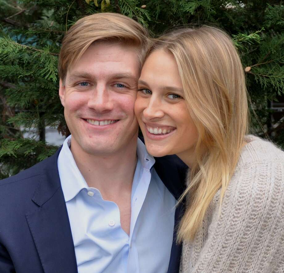 Avery Campbell Carpenter, a daughter of Leigh W. Carpenter and Benjamin Carpenter III of Greenwich, C.T., was married Dec. 2 to John Alexander Forrey, Photo: Contributed