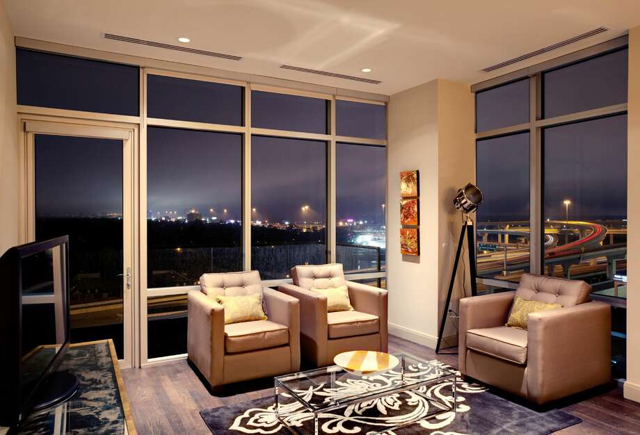 A suite on the 12th floor of the Hotel Sorella CityCenre spans more than 3,000 square feet - which is the largest in the Houston area. The starting price for this is $2,200 per night. Photo: Courtesy Of Hotel Sorella CityCetre