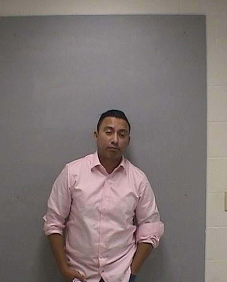 Cristian Valencia, 38 of Ansonia was charged with a DUI on Dec. 2 after allegedly staying stopped to long at a traffic light in Orange. Photo courtesy of the Orange Police Department. Photo: Contributed / Contributed