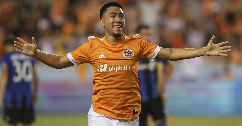 Twelve Dynamo players will be protected from being selected in Tuesday's MLS expansion draft for 2018 newcomer Los Angeles Football Club, including midfielder Memo Rodriguez. Photo: Yi-Chin Lee/Houston Chronicle