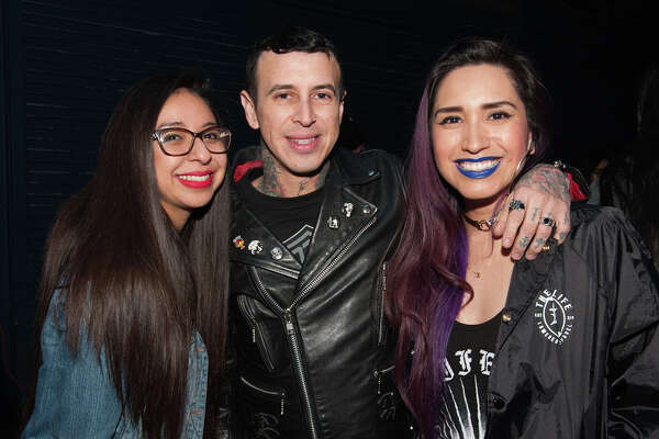 Chicano electronic rock duo delighted fans Saturday night, Dec. 9, 2017, at Paper Tiger.