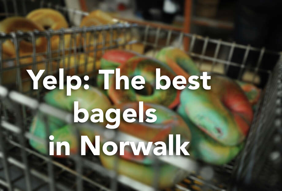 Click through for an overview of the best places to get a bagel in and near Norwalk, according to Yelp users.  Photo: Brian A. Pounds/Hearst Connecticut Media
