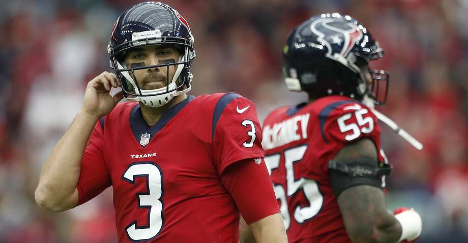 The Texans have been cleared by the NFL, but changes are coming to the league's concussion protocol after an investigation of the Dec. 10 incident involving quarterback Tom Savage. Photo: Karen Warren/Houston Chronicle