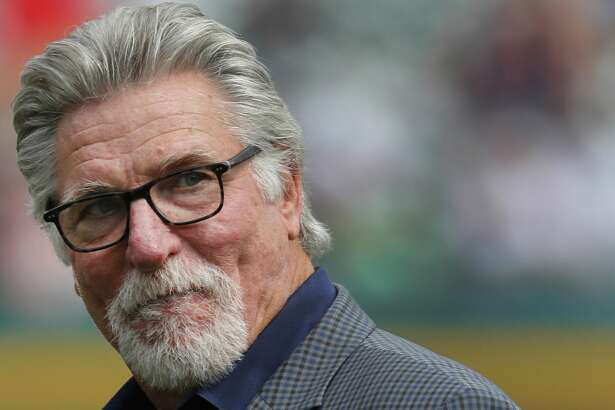 FILE - In this June 3, 2017, file photo, former Detroit Tigers pitcher Jack Morris watches a baseball game between the Tigers and the Chicago White Sox in Detroit. Former Tigers teammates Morris and Alan Trammell were elected to the baseball Hall of Fame on Sunday, Dec. 10, 2017, completing the journey from Motown to Cooperstown.  (AP Photo/Paul Sancya, File)