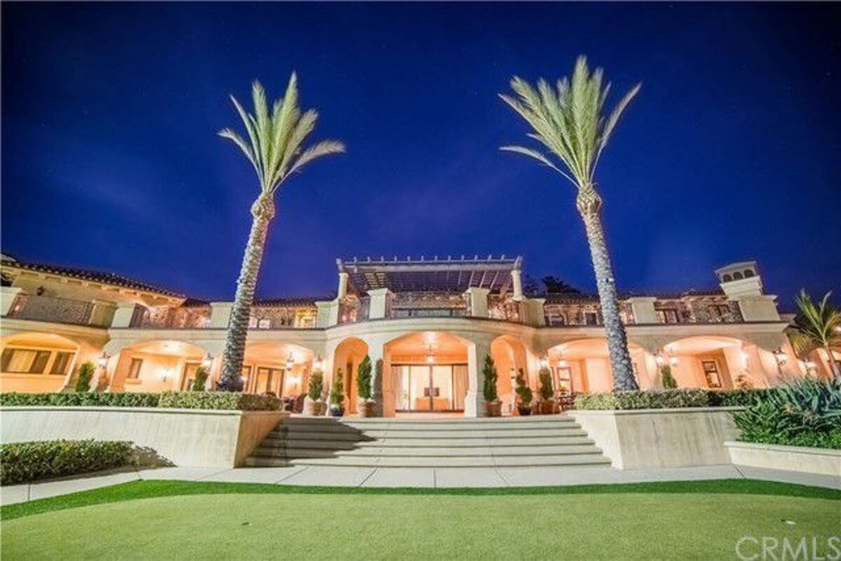 The estate of Lynsi Snyder, the billionaire president of In-N-Out Burger, at 340 Old Ranch Road, Bradbury, California, is listed at $19,799,000. The Mediterranean-style home was built in 2010 and features a 2,500-square-foot guest house and a fully equipped indoor batting cage.
