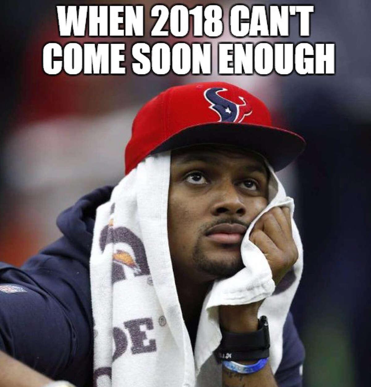 Demetrio Teniente (Photo: Karen Warren) Browse through the photos for the memes that define the Texans' 2017 season.