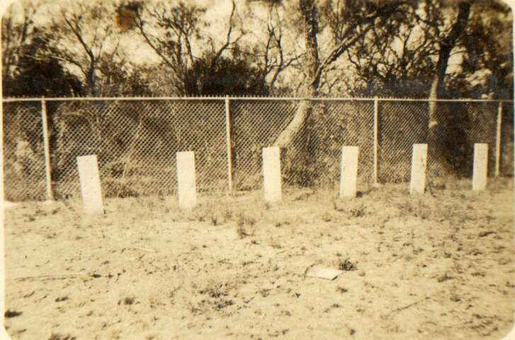 Graves of 18 African American soldiers of the 24th Infantry who were executed at Fort Sam Houston. Courtesy photo U.S. Army