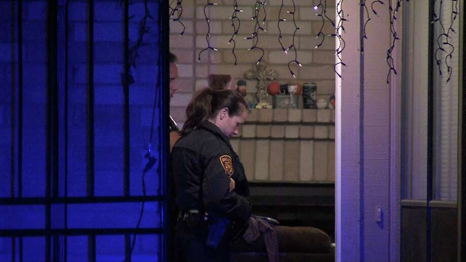 Police said the dog, owned by a family of four in the 8700 block of Silver Quail, bit the man's arm and clamped down as the man opened its kennel around 10:30 p.m. Photo: Ken Branca