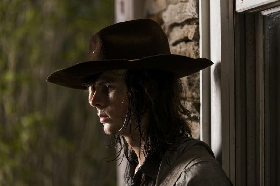 Chandler Riggs as Carl Grimes. Photo: Gene Page/AMC