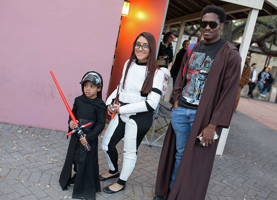 "The force was strong in San Antonio on Sunday, Dec. 10, 2017, when the fourth annual Wookie Walk took over La Villita just ahead of ""Star Wars: The Last Jedi"" hitting theaters. Fans converged for food, drinks, music and art, plus a wide array of epic costumes. Photo: B. Kay Richter, For MySA.com"