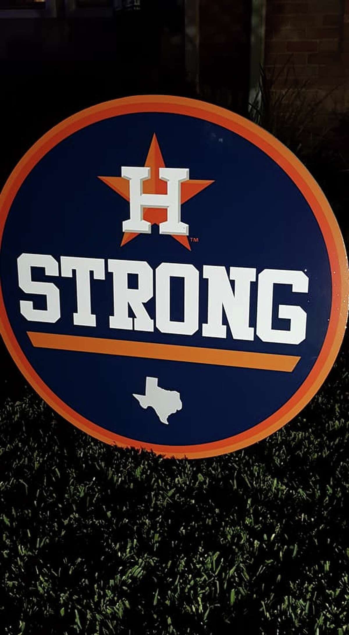 A Pearland guy joined a handful of other Houston-area residents in dedicating their front lawn Christmas decorations to the Astros' epic World Series run.