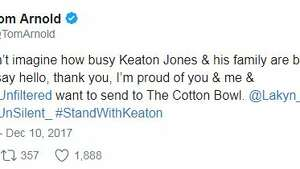 Celebrities and athletes took to social media to stand with Keaton Jones, a boy who spoke up against bullying in a viral video.