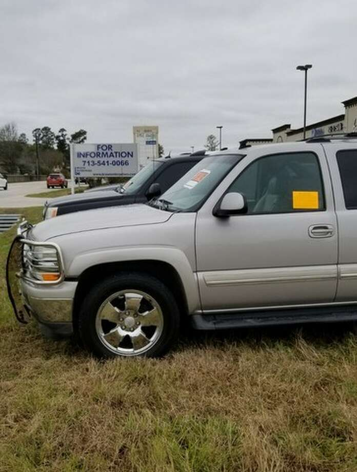 "Investigators in Harris County have issued citations in several cases of ""curbstoning,"" a form of fraud where vehicle dealers place cars on the side of the road for sale. Photo: Harris County Pct. 4 Constable"