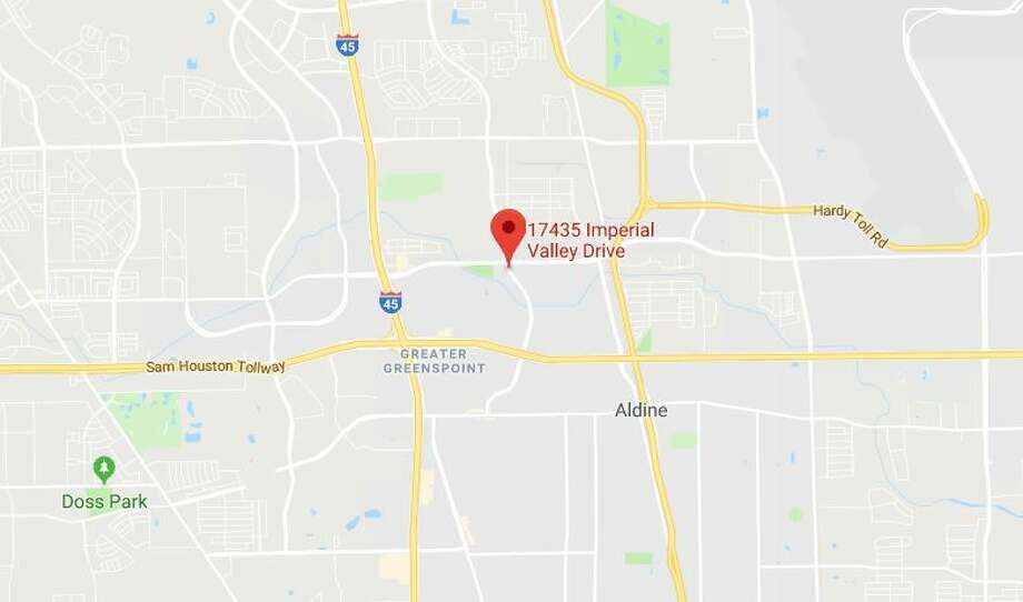 The stabbing occurred in the 17400 block of Imperial Valley.