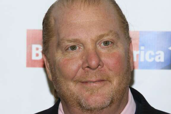 FILE - In this Wednesday, April 20, 2016, file photo, Mario Batali attends an awards dinner in New York. Batali is stepping down from daily operations at his restaurant empire following reports of sexual misconduct by the celebrity chef over a period of at least 20 years. In a prepared statement sent to The Associated Press, Monday, Dec. 11, 2017, Batali said the complaints match up with his past behavior. (Photo by Andy Kropa/Invision/AP, File)