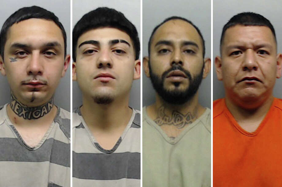These four men were connected to a robbery of a known stash house that occurred in November. Photo: Laredo Morning Times