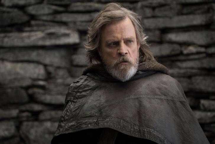 Star Wars: The Last Jedi..Luke Skywalker (Mark Hamill).