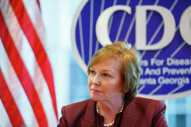 Brenda Fitzgerald, director of the Centers for Disease Control and Prevention, at agency headquarters in Atlanta on Dec. 5, 2017.