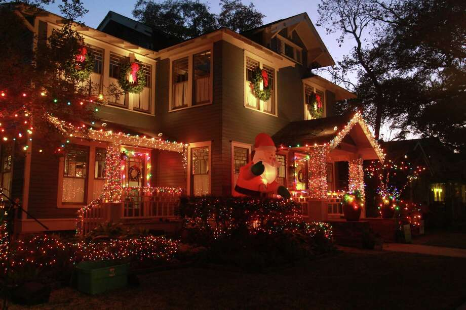 Lights in the Heights taken on Dec. 9, 2017. Photo: Gary Fountain, For The Chronicle / Copyright 2017 Gary Fountain