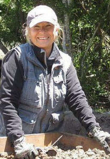 Linda Gorski, president of the Houston Archeological Society Photo: Houston Archeological Society