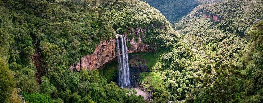 Caracol Falls in Canela, Brazil. Photo: Renato Duarte Da Cunha